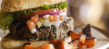 3 knallgode hamburgere helt uten kjøtt
