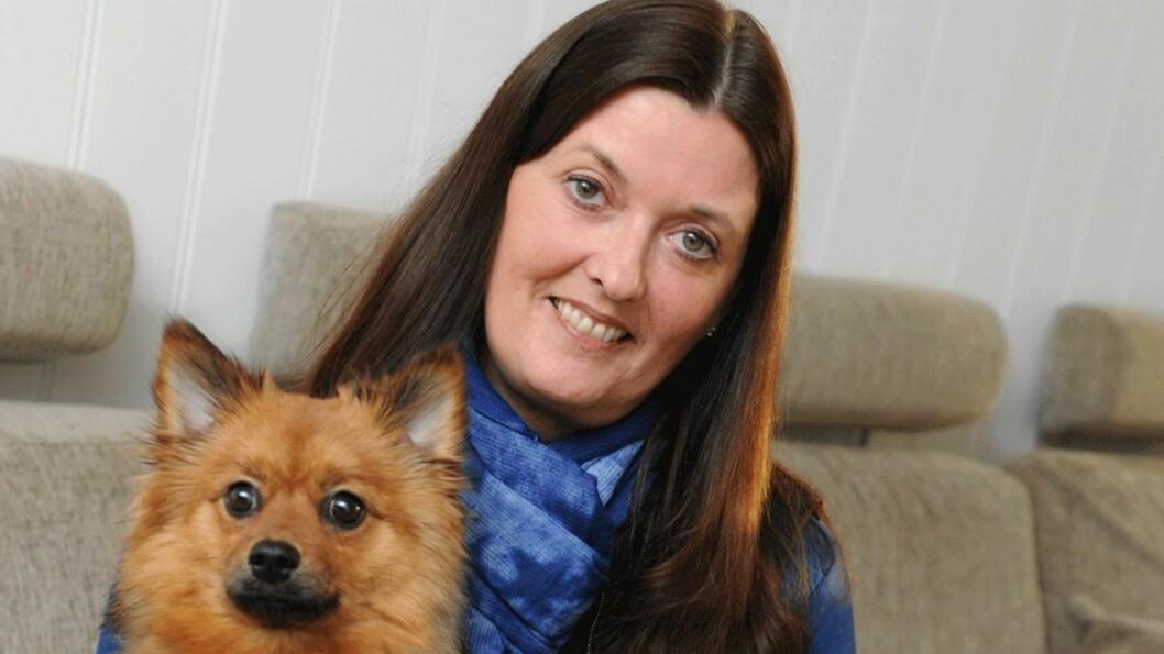 SAMME SYKDOM SOM GUNHILD STORDALEN: Monica Kolberg (45) fra Bodø fikk vite at hun har systemisk sklerose. Foto: Marianne Otterdahl-Jensen