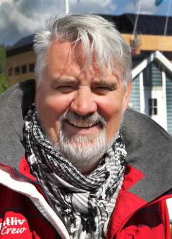 GLAD FOR PÅBUDET: Frode Pedersen i Redningsselskapet. Foto: NTB Scanpix
