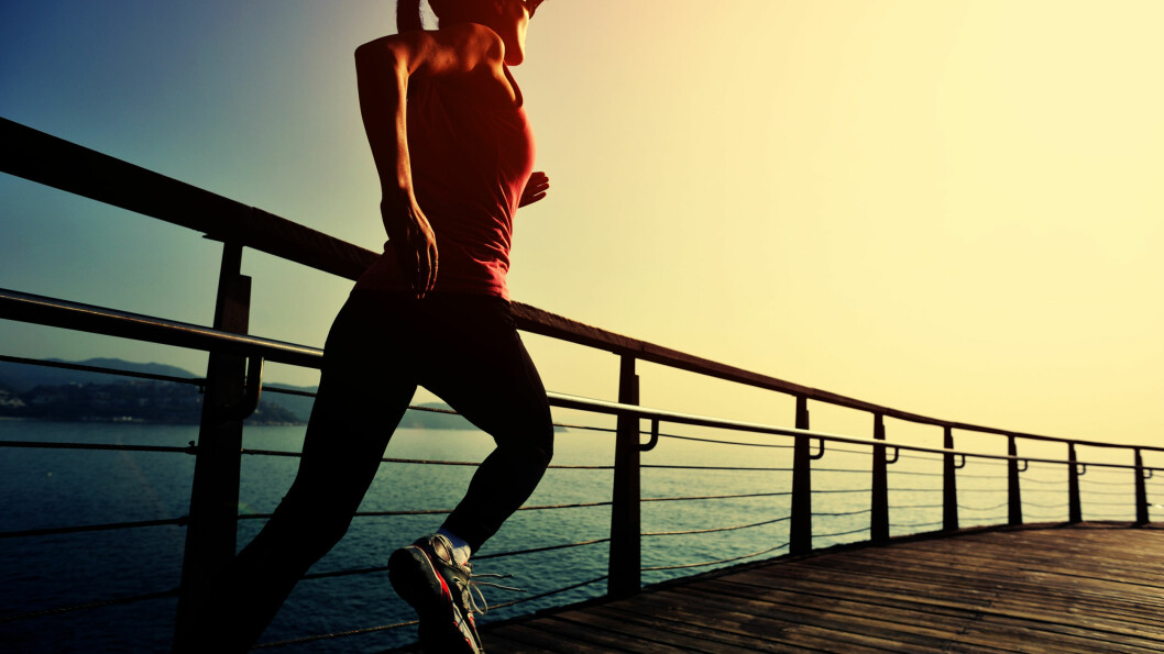 TRENE OM MORGENEN: Trening er en god start  - og da har du resten av dagen til å gjøre alt mulig annet! Foto: lzf - Fotolia