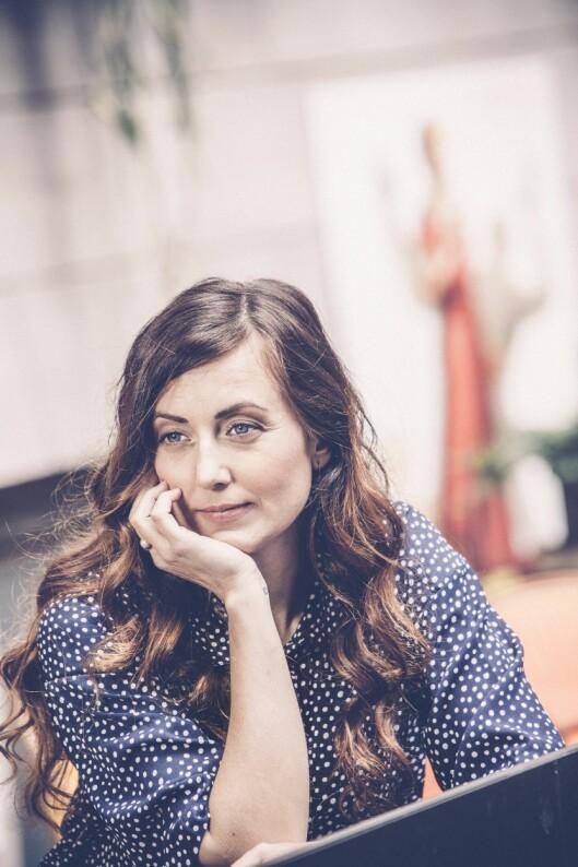 - Jeg er voksen og må ta tak i mitt problem med medavhengighet selv, sier Sanna Lundell. Foto: Rickard L. Eriksson
