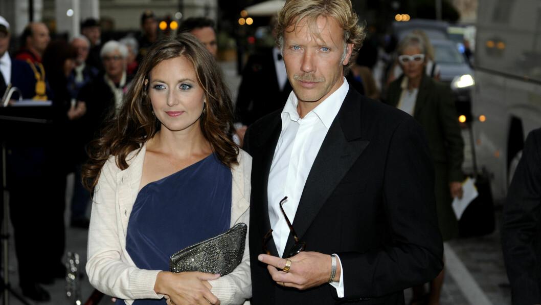 SANNA LUNDELL OG MIKAEL PERSBRANDT:  Sanna Lundell og Mikael Persbrandt har to barn sammen, og har vært kjærester siden 2005.   Foto: Scanpix