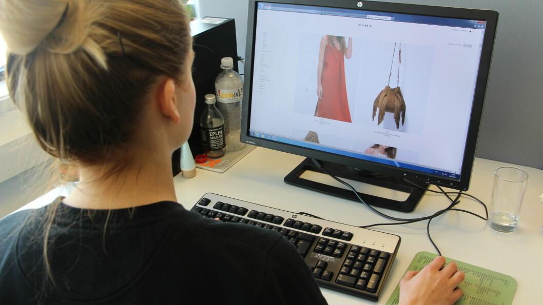 SHOP PÅ DISSE DAGENE: På tirsdag og torsdag legger Zara ut det aller nyeste. Foto: Malin Gaden