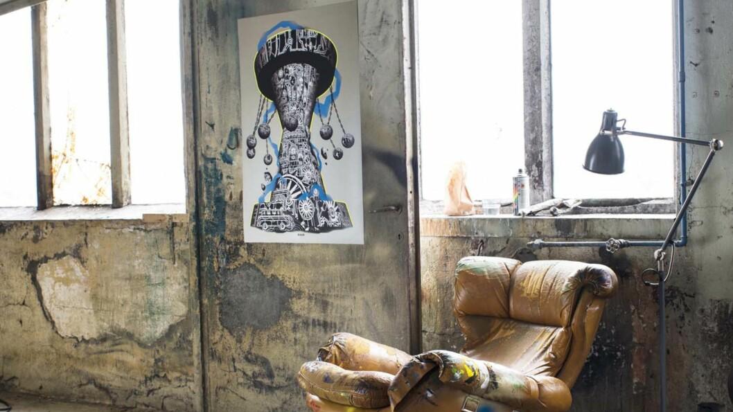 <strong>GATEKUNST PÅ IKEA:</strong>  Fra 15. juni kan du kjøpe unike plakater av ulike gatekunstnere på IKEA.  Foto: IKEA