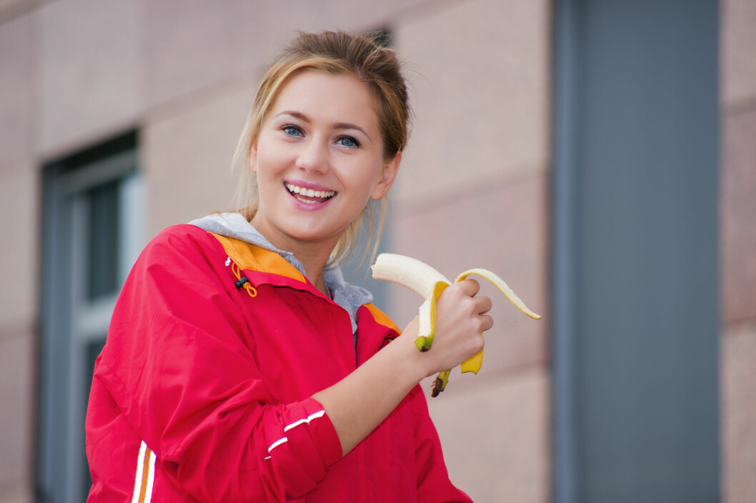 <strong>BANAN:</strong> Bananer inneholder noe mer kalorier per enhet enn andre frukter. Likevel er ikke dette er noen grunn til å kutte den ut.  Foto: Volker Witt - Fotolia