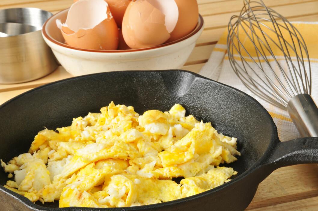 <strong>EGG:</strong> Ifølge eksperten kan ikke kolesterolet fra egg assosieres med hjerte- og karsykdommer.  Foto: MSPhotographic - Fotolia
