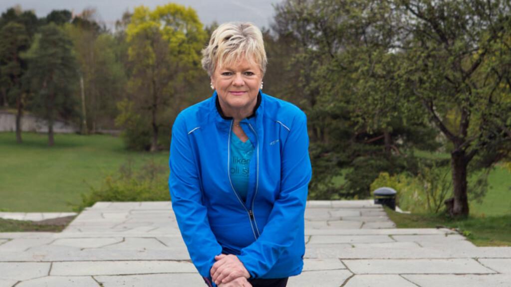 TRODDE KOLS VAR ASTMA: Rita Andersen fikk store problemer med pusten, og trodde det var astmaen som hadde forverret seg. Det viste seg å være kols.  Foto: Ellen Johanne Jarli