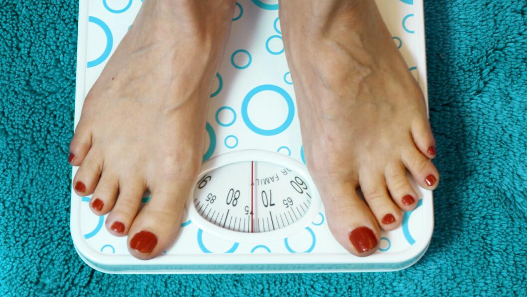 GÅTT OPP? Det trenger ikke bety at du har lagt på deg fett. Foto: Scanpix