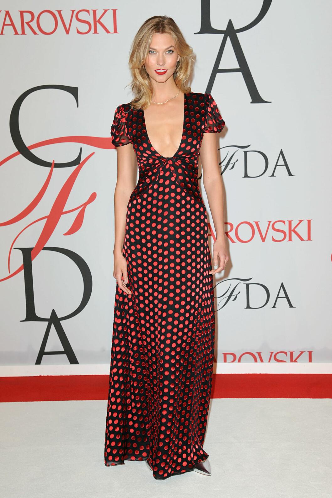 SUPERMODELL: Tidligere Victoria's Secret-model Karlie Kloss (22). Foto: Zuma Press