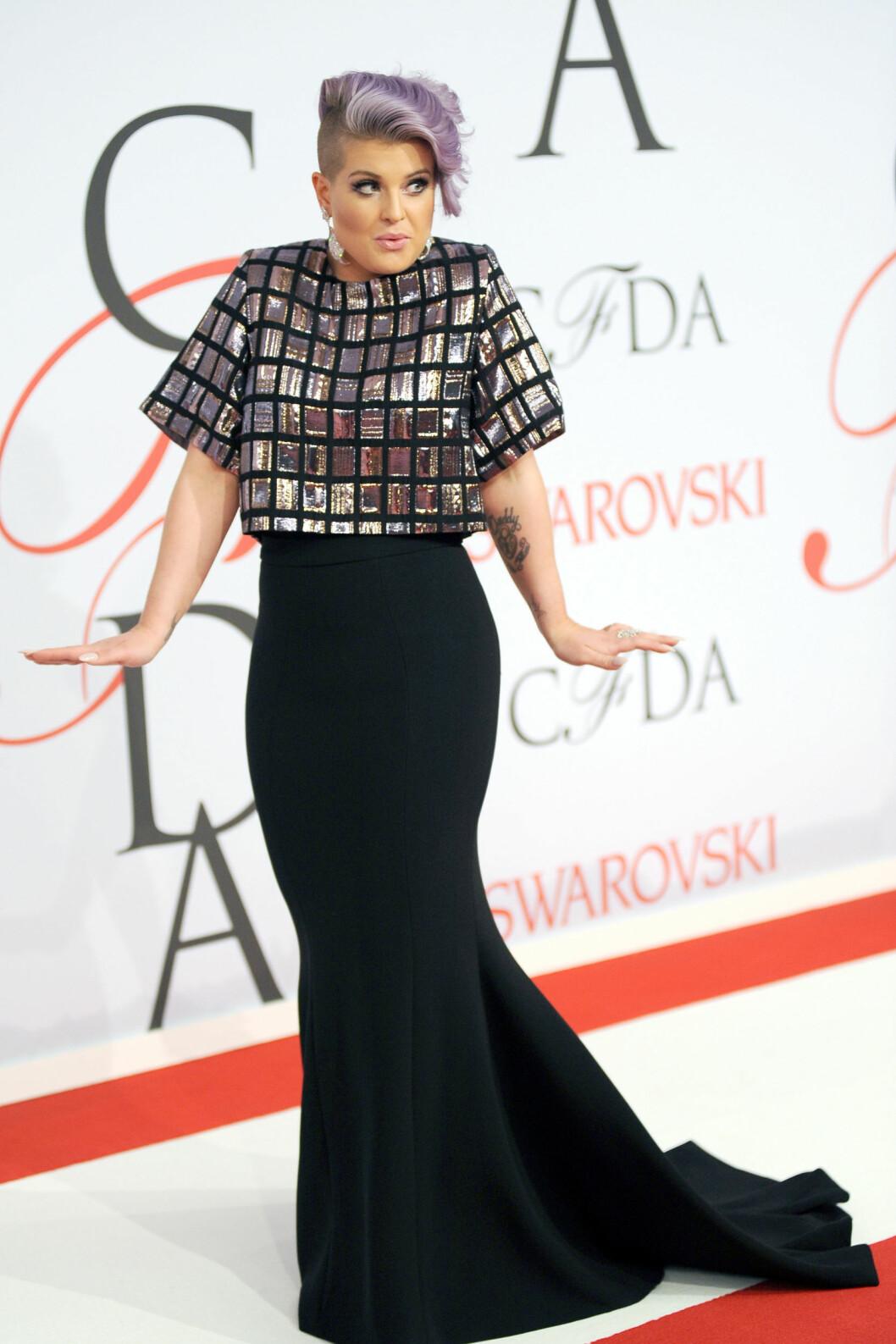 VISTE FORMER: Kelly Osbourne (30). Foto: Zuma Press