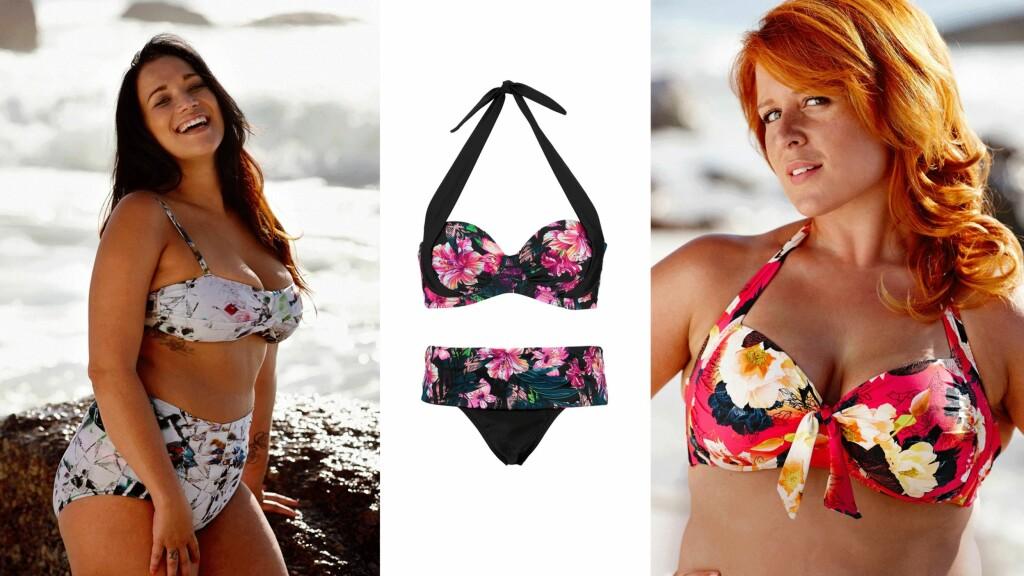 76117325 FORTVIL IKKE: Lekkert badetøy finnes til alle! Bikinien i midten er fra  Ellos: