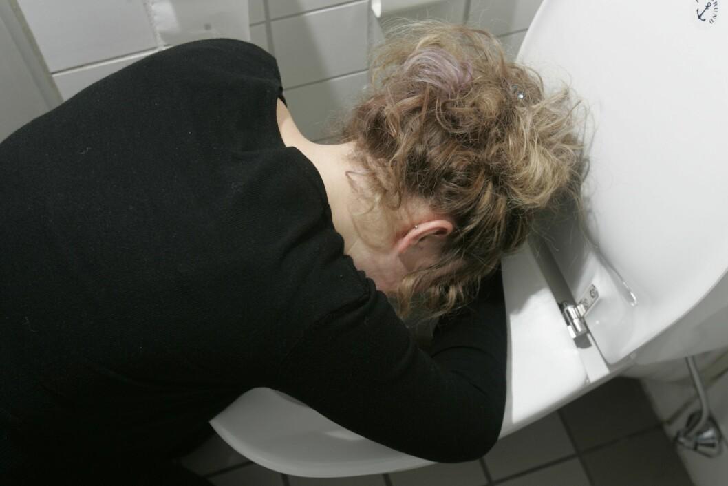 <strong>MAGEVIRUS:</strong> Ved omgangssyke er tarmen i seg selv irritert på grunn av et virus, eller at du har spist noe du ikke tålte. Foto: NTB scanpix