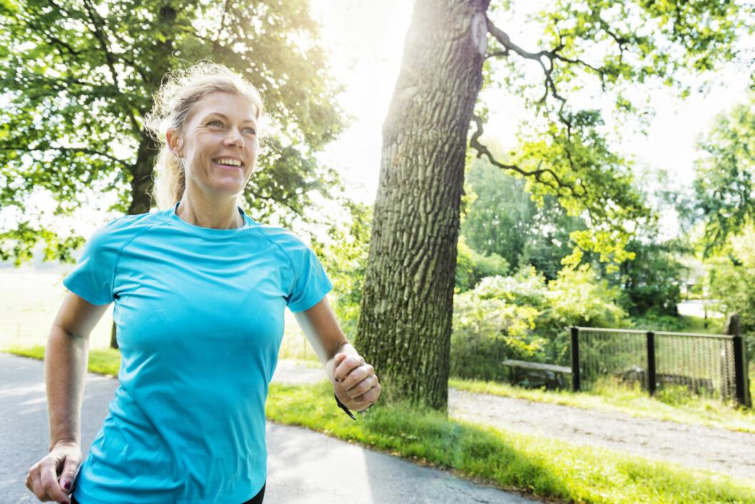 BEKJEMPER LIVSSTILSSYKDOMMER: Stadig flere av oss lever så usunt at vi blir syke, dette kan trening være med på å motvirke!