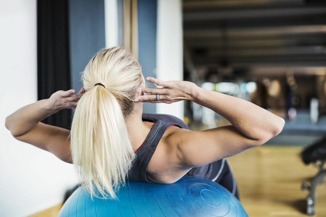 TREN JEVNLIG: Det anbefales at du trener minimum 2,5 timer i uken.  Foto: NTB Scanpix