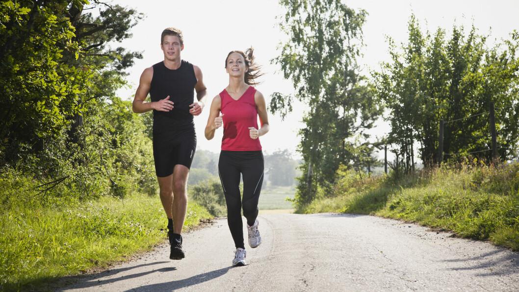 TRENING: Det å trene jevnlig har en rekke positive effekter på kroppen din.  Foto: NTB Scanpix