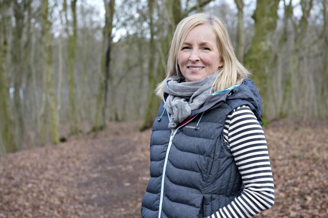 ER BOKAKTUELL: Rikke har erkjent at hun ikke klarte  å redde sin egen mor, men håper at andre pårørende til alkoholikere kan få hjelp av boken hun har skrevet. Foto: Lars Horn/Ude og hjemme/All Over Press