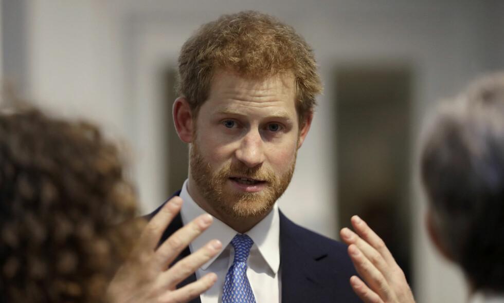 VIL IKKE BLI KONGE: I et nylig intervju avslører prins Harry at han egentlig ikke vil bli konge. Foto: NTB Scanpix