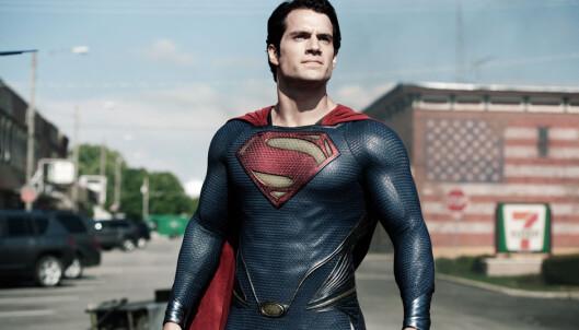 <strong>SUPERMANN:</strong> Henry Cavill i «Man of Steel». Foto: DC Comics