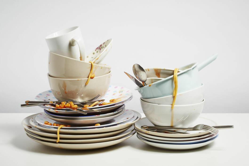 FÅ DET RENT: Sjekk om du går riktig fram i bruken av oppvaskmaskinen. Foto: hues - Fotolia