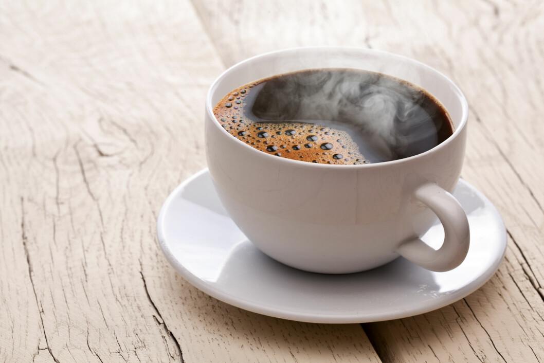<strong>ENERGILØS FØR TRENING?:</strong> Da kan faktisk en kaffe hjelpe, ifølge Helle Bornstein.  Foto: volff - Fotolia