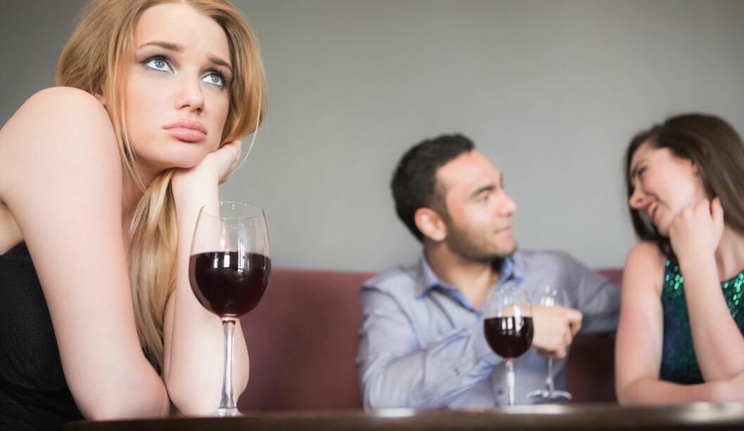<strong>VIL BLI SJEKKET OPP:</strong> Mange kvinner venter på at mennene skal sjekke dem opp, men da kan det ende med at en annen tar ham.  Foto: WavebreakmediaMicro - Fotolia