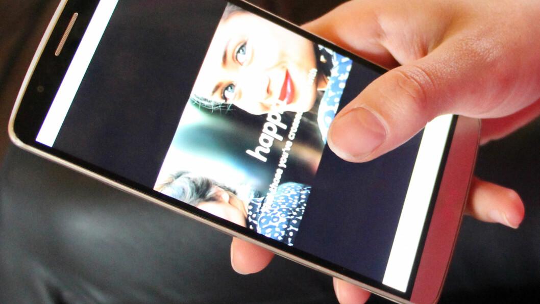 HAPPN: Happn er en ny sjekke-app som gir deg mulighet til å finne personer du tidligere ar krysset veier med.  Foto: KK