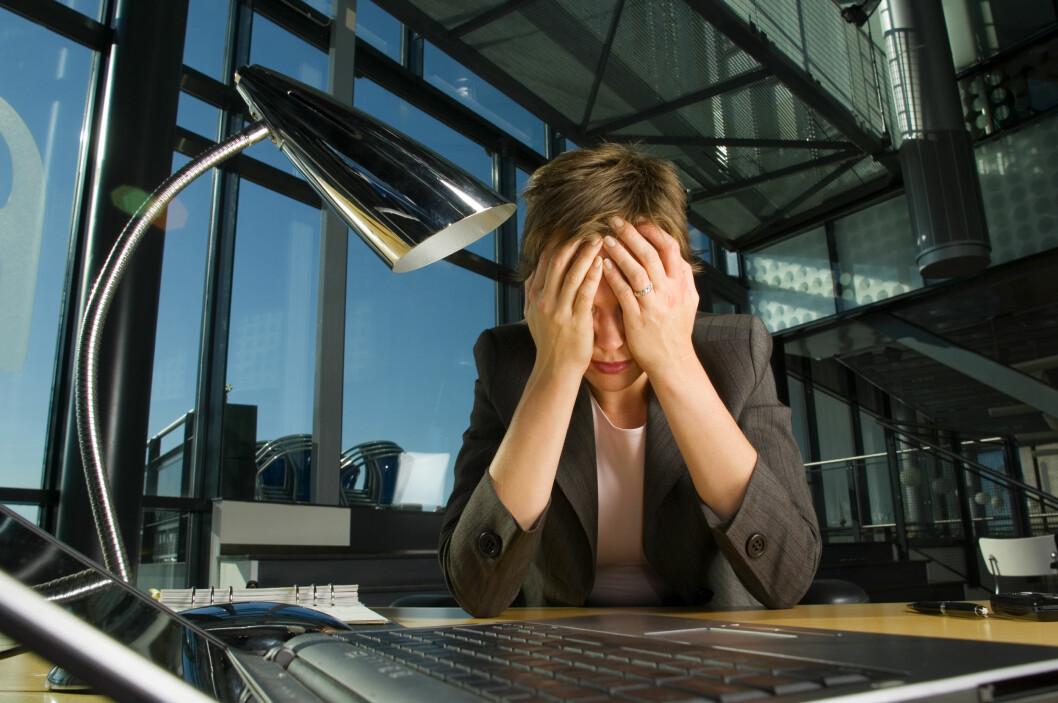 <strong>VANSKELIG:</strong> Selv etter en depresjon er behandlet kan de kognitive ferdighetene likevel være svekket, som gjør det vanskeligere å utnytte sitt fulle potensiale på jobb og skole. Foto: Petri Arrturi Asikainen, Scanpix/NTB