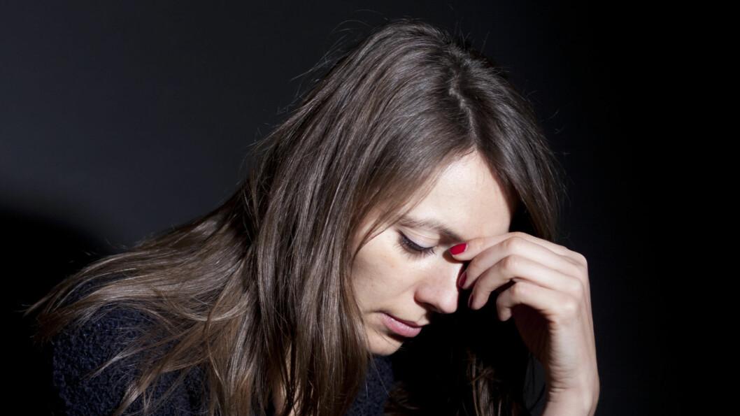 <strong>DEPRESJON:</strong> Rundt 25 prosent av alle kvinner og 15 prosent av alle menn vil oppleve en depresjon i løpet av livet. Og halvparten av disse vil oppleve tilbakefall.
