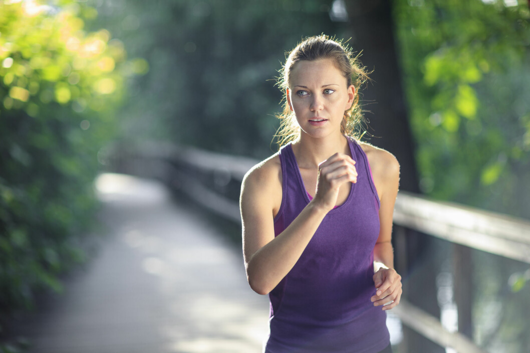 TRENING: Hva er forskjellen på å trene på tom mage og vente til etter at du har spist? Foto: Matt Dutile/Scanpix