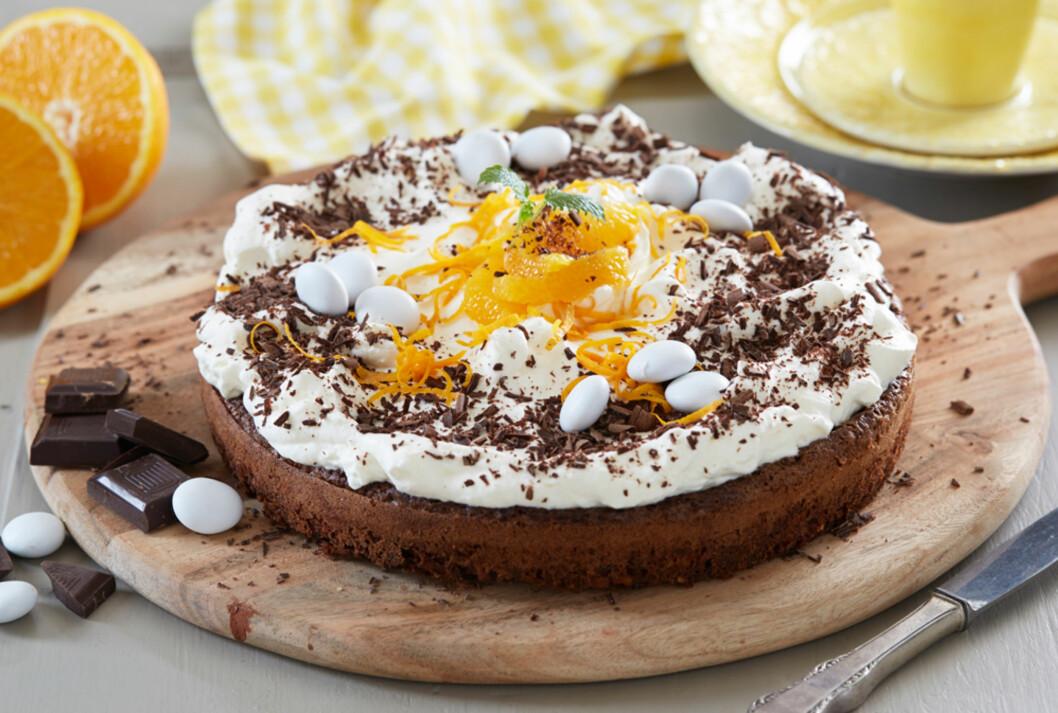 Påskens beste sjokoladekake