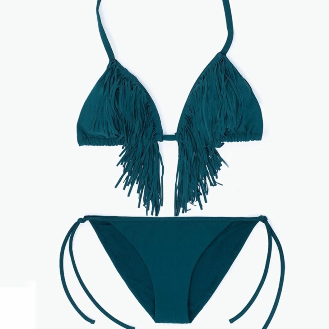 Bikini fra Zara, kr 199 for underdel og kr 179 for underdel.  Foto: Produsentene