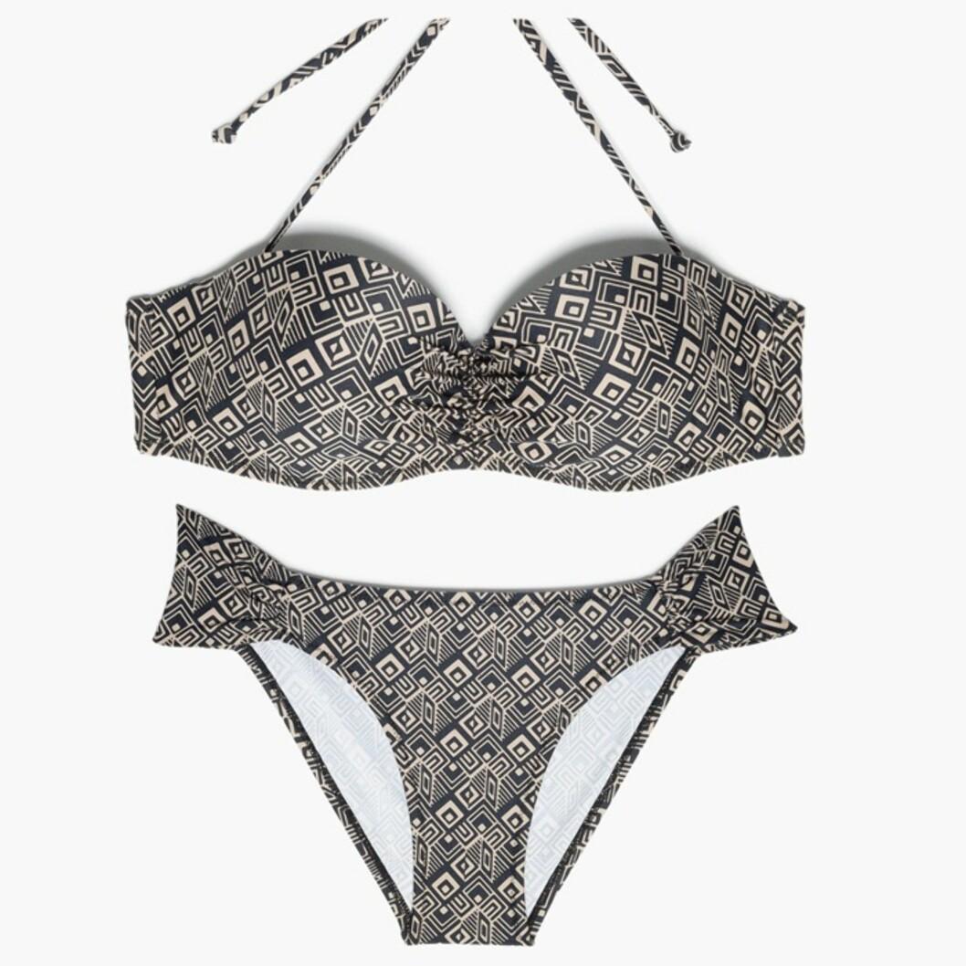 Bikini fra Mango, kr 229 for overdel og kr 149 for underdel.  Foto: Produsentene