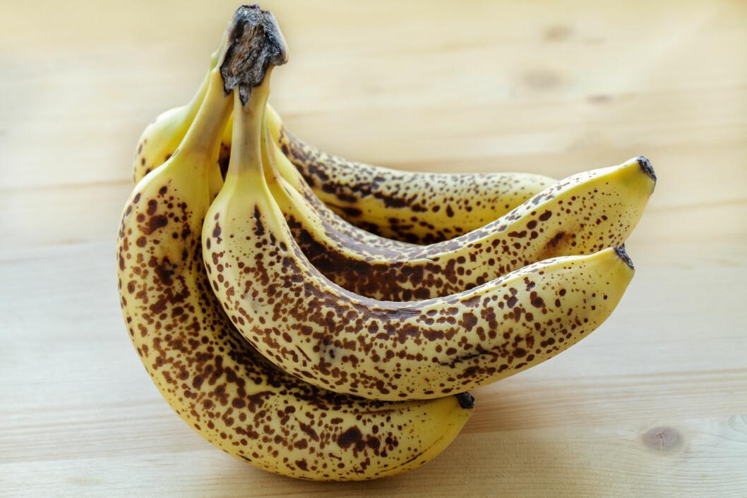 <strong>OVERMODNE BANANER:</strong> Bananer med giraffmønster er store bruksområder, skal vi tror matbloggere.  Foto: Fotolia