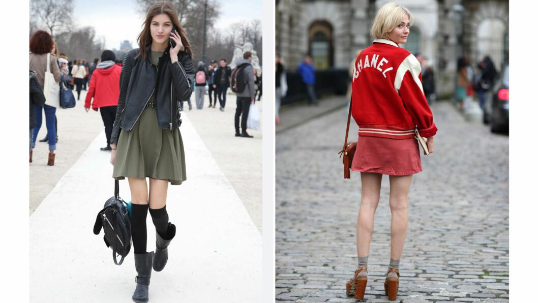 SOKKER: Før var sokker en kjedelig nødvendighet. Nå har det blitt et kult mote-tilbehør. Foto: All Over