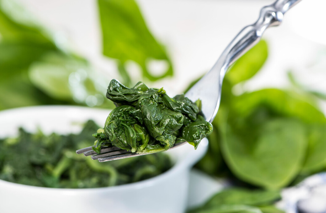 SPINAT: Spinat er kongen blant bladgrønnsaker når det gjelder næringsinnhold.  Foto: HandmadePictures - Fotolia