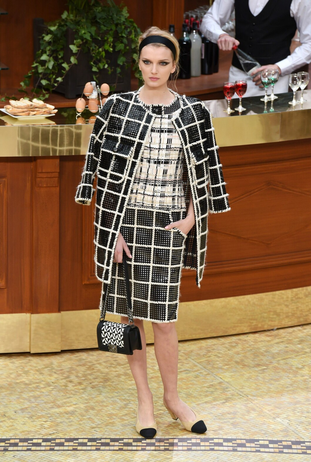 Chanel høst/vinter 2015.  Foto: David Fisher/REX/All Over Press
