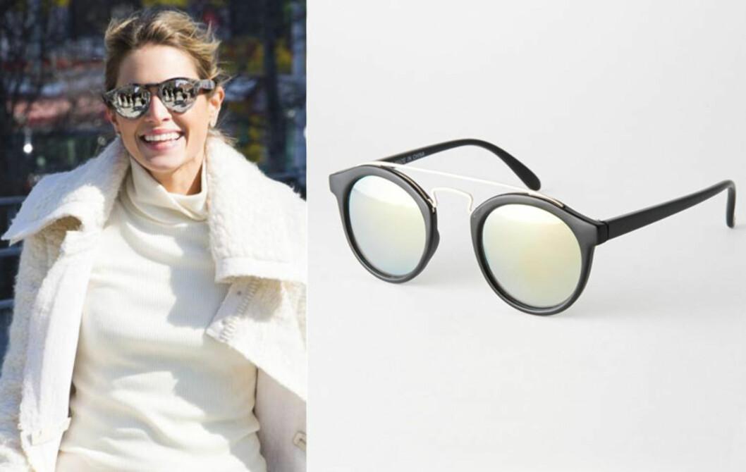 Fjorårets trend fortsetter - solbrillene skal ha speilglass! Solbriller fra Asos Collection via asos.com, ca. kr 145. Foto: All Over, Asos.com