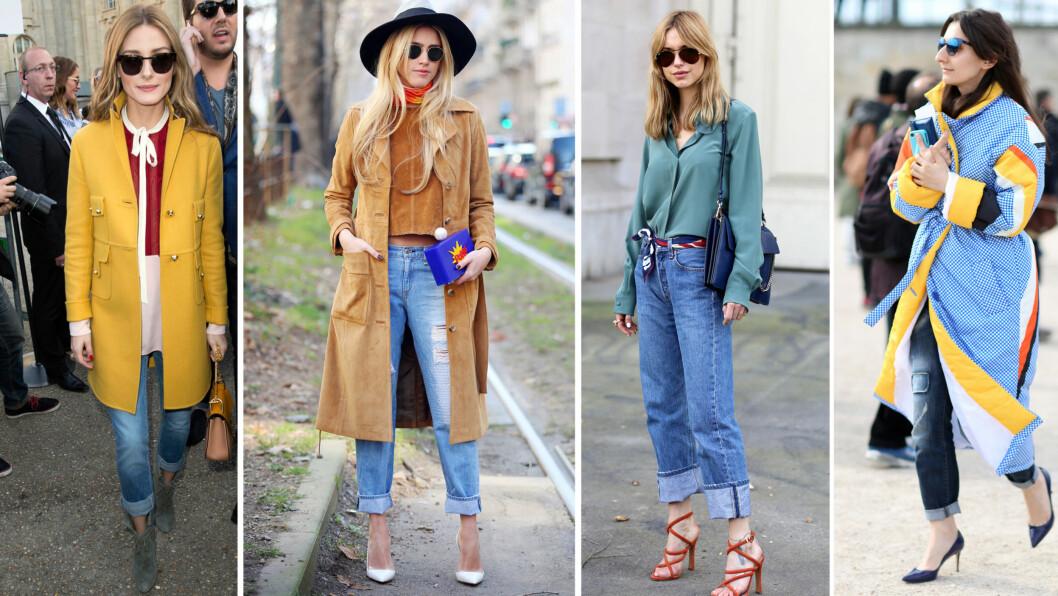 SUPERENKELT STILTRIKS PÅ ET PAR JEANS: La deg inspirere av stilikonene, og gjør buksen enda kulere med en brett denne våren.
