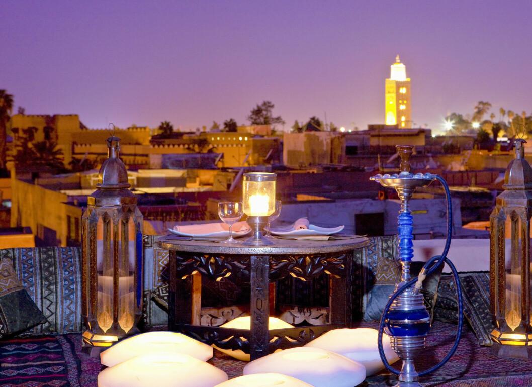 MARRAKECH: Den gamle, marrokanske handelsbyen er perfekt for en romantisk kjæresteferie.  Foto: All Over Press