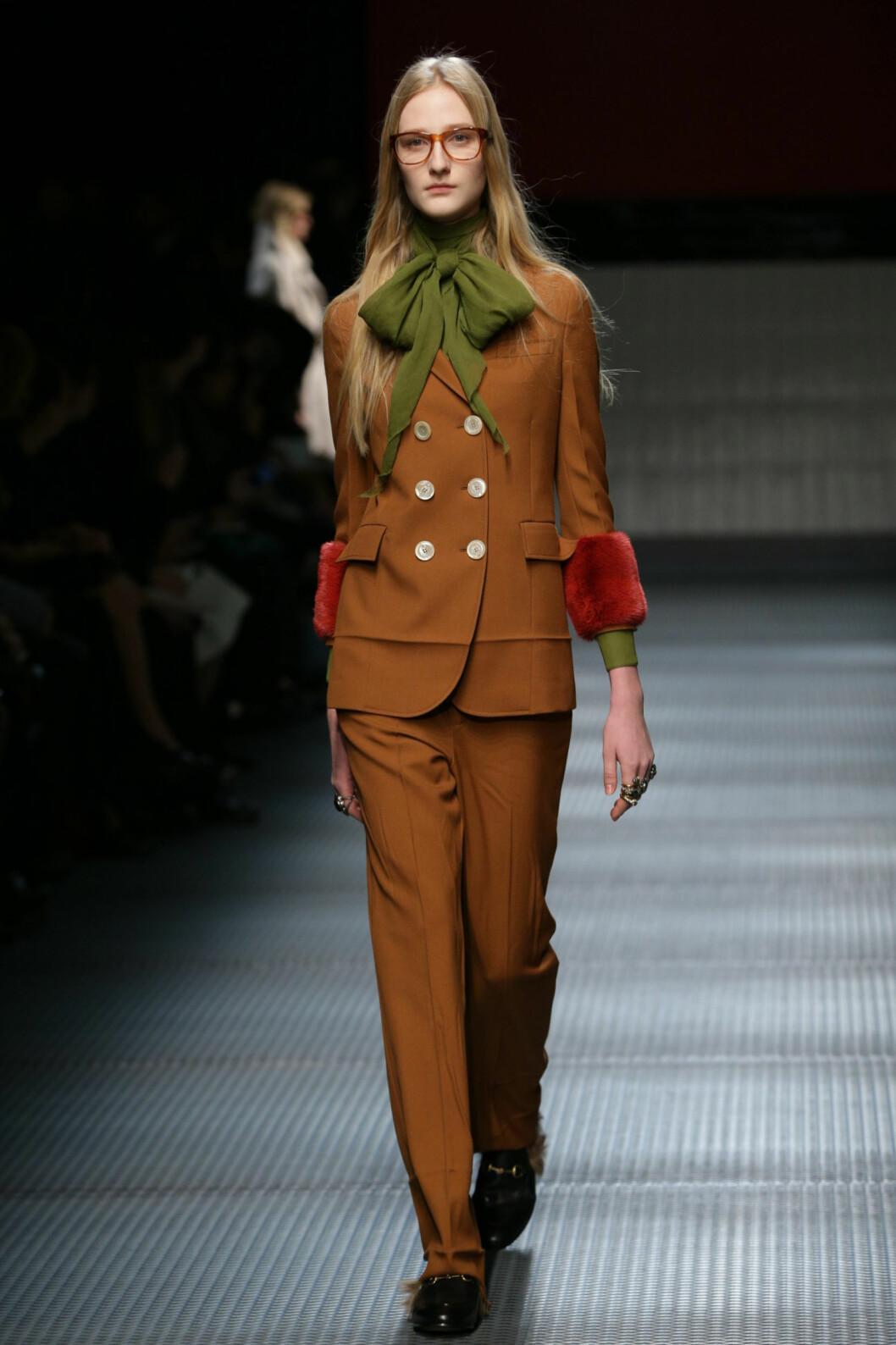 KUL DRESS: Gucci, høst/vinter 2015/2016. Foto: /All Over Press