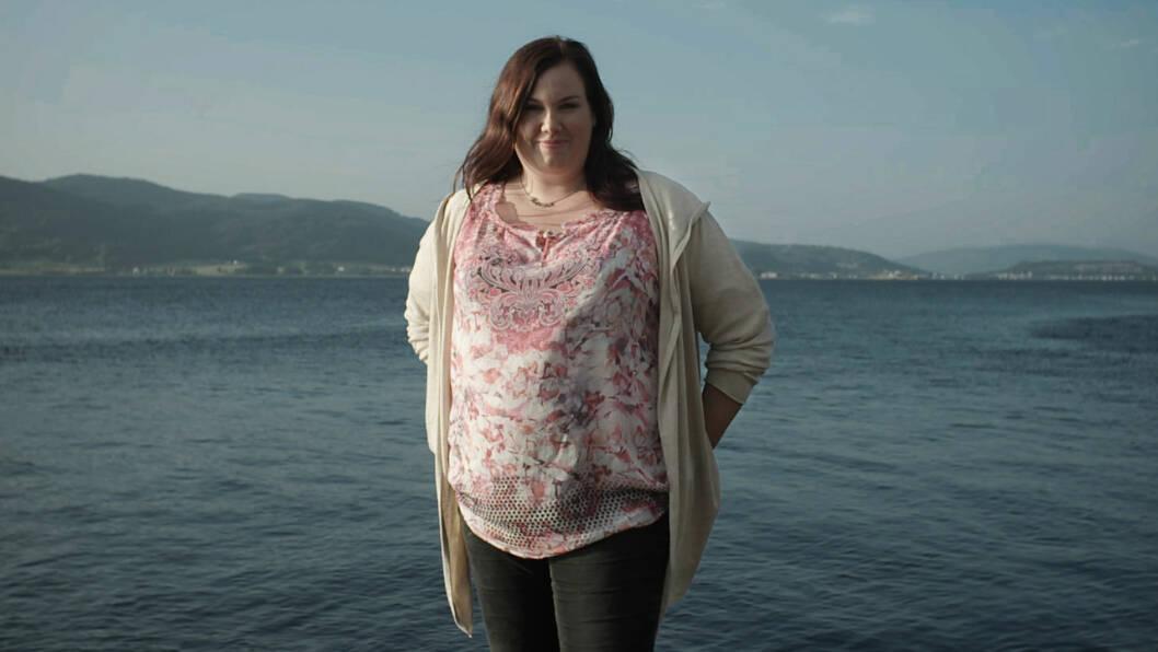 TRØSTESPISING: Katarina Gihbsson (30) var langt nede og trengte å snu livet sitt.  Foto: TVNorge