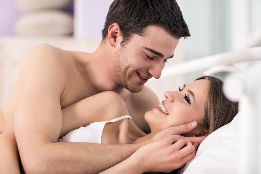 FORNØYDE MED PENISSTØRRELSEN: 85 prosent av de kvinnelige deltakene i undersøkelsen var fornøyde med partnerens penis.  Foto: llhedgehogll - Fotolia