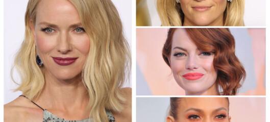 De hotteste sminkelookene fra Oscar