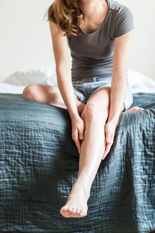 TIDLIG TEGN: Leggkramper etter fysisk aktivitet, kan være et symptom på hjerteproblemer. Foto: All Over Press
