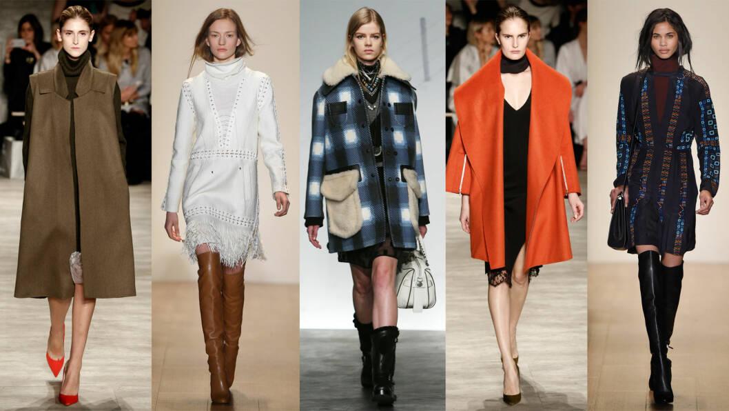 HØSTEN 2015: Sjekk trendene fra New York Fashion Week for høsten 2015. Foto: All Over Press