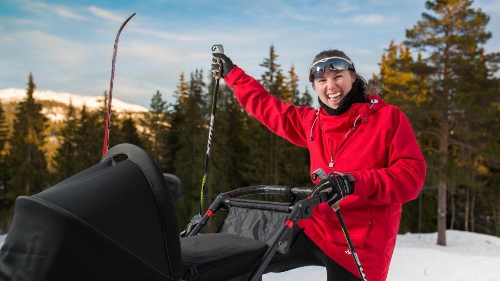 GLEDER SEG: Maren Wegge gleder seg mye til å gå KK SKimila! Foto: Jonas Nord Gusland