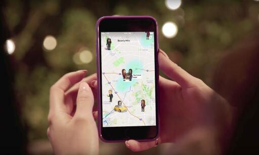 image: Snapchat lanserer Snapkart
