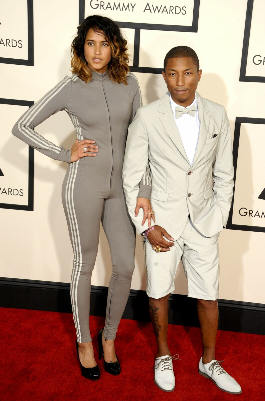 Pharrell Williams and Helen Lasichanh Foto: Picture Perfect/REX/All Over Press