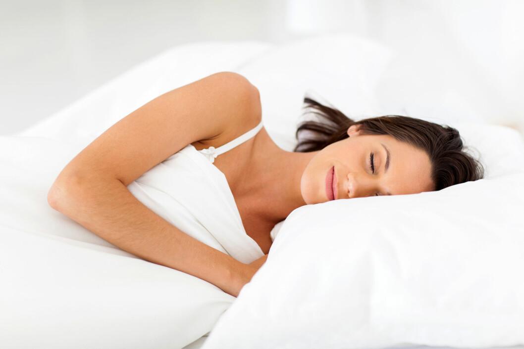 SOVE BEDRE: Visste du at det er mulig å puste seg til bedre søvn?  Foto: michaeljung - Fotolia