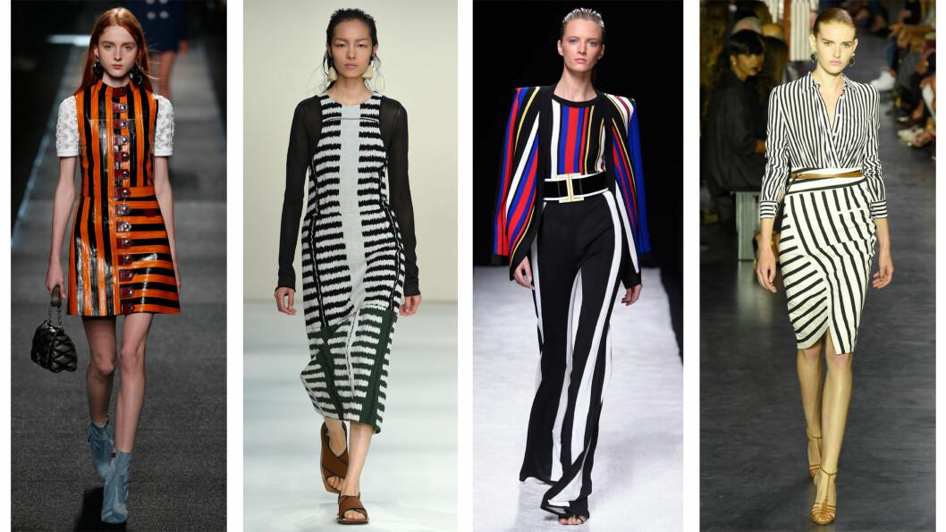 FRA CATWALKEN: Louis Vuitton, Marni, Balmain og Altuzarra. Foto: All Over